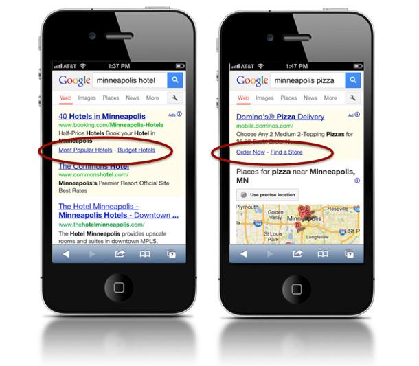 Nowe reklamy w mobilnym Google.